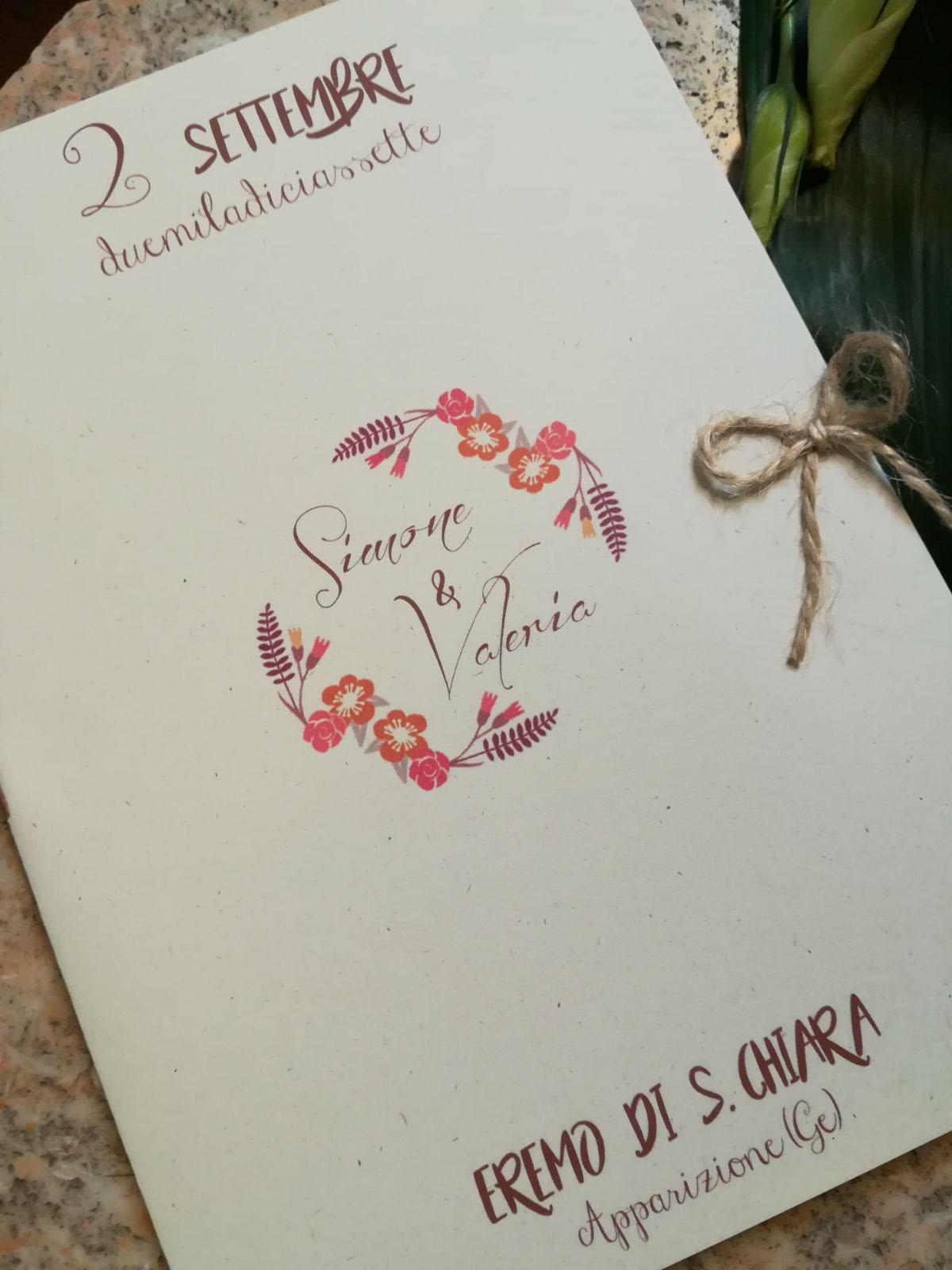 Partecipazioni Matrimonio Genova.Partecipazioni Di Matrimonio Genova Grafica Personalizzata